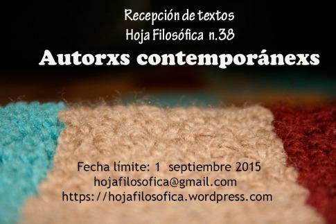 autores contemporanexs afiche